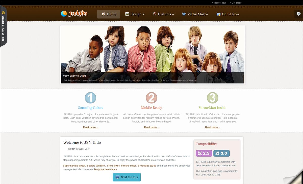template site de rencontre joomla